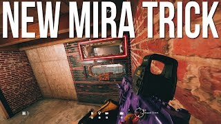 NEW Mira Trick AGAIN + Amazing Hiding Spot! - Rainbow Six Siege Burnt Horizon