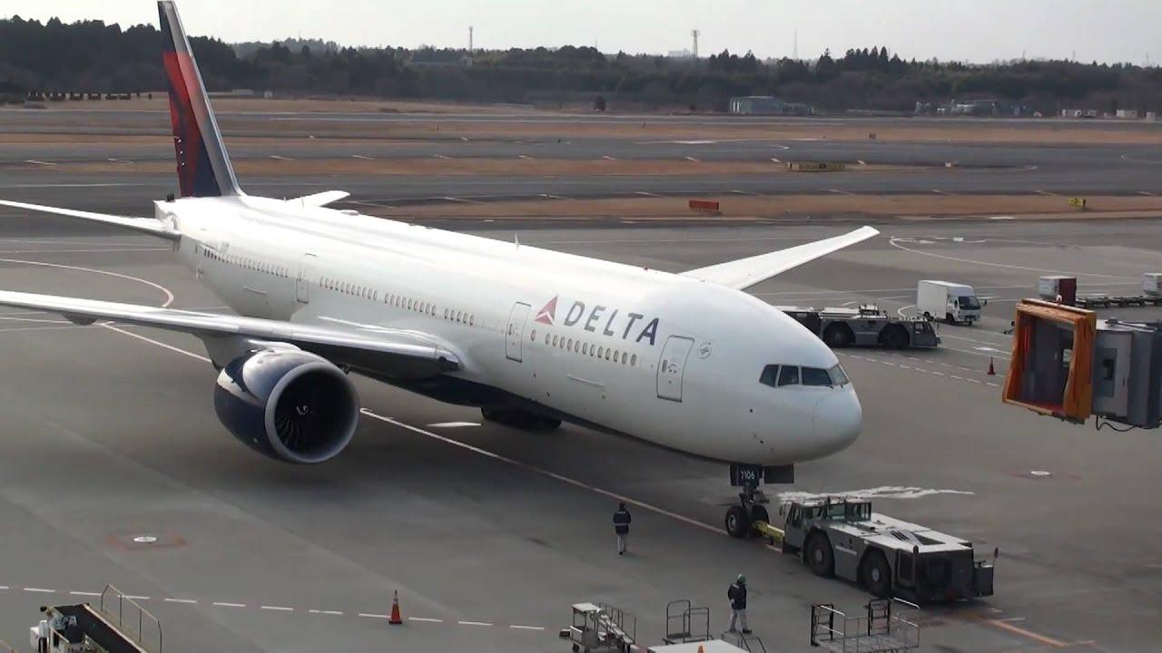 Delta Air Lines Boeing 777 200lr Narita International