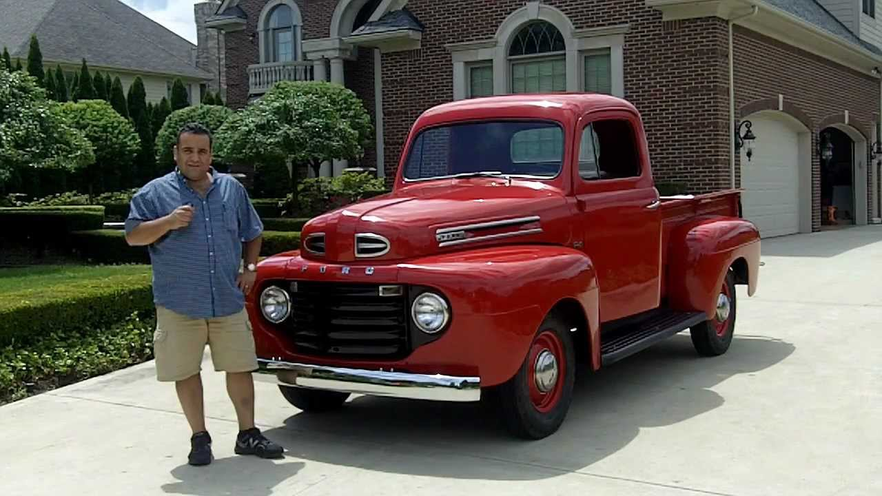 1950 ford f1 pickup classic muscle car for sale in mi vanguard motor sales youtube. Black Bedroom Furniture Sets. Home Design Ideas
