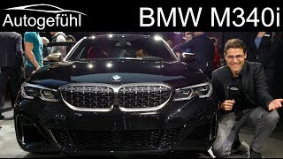 all-new BMW 3 Series M340i REVIEW Exterior Interior G20 M Performance 2020 3er - Autogefühl
