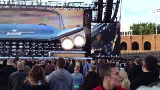Bon Jovi - Water Made Me and Bad Name Live Stockholm Stadion, Sweden 2013