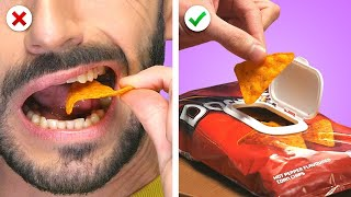 CRAZY FOOD! 10 Silly Food Hacks, DIY Kitchen Ideas & Pranks