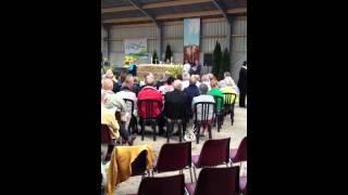 pop gospel koor SPIRIT zingt Go like elijah 02-09-2012 berlicum
