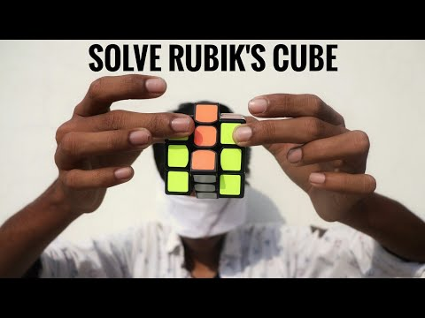 Solve RUBIK'S CUBE In Few Seconds With Simple Trick