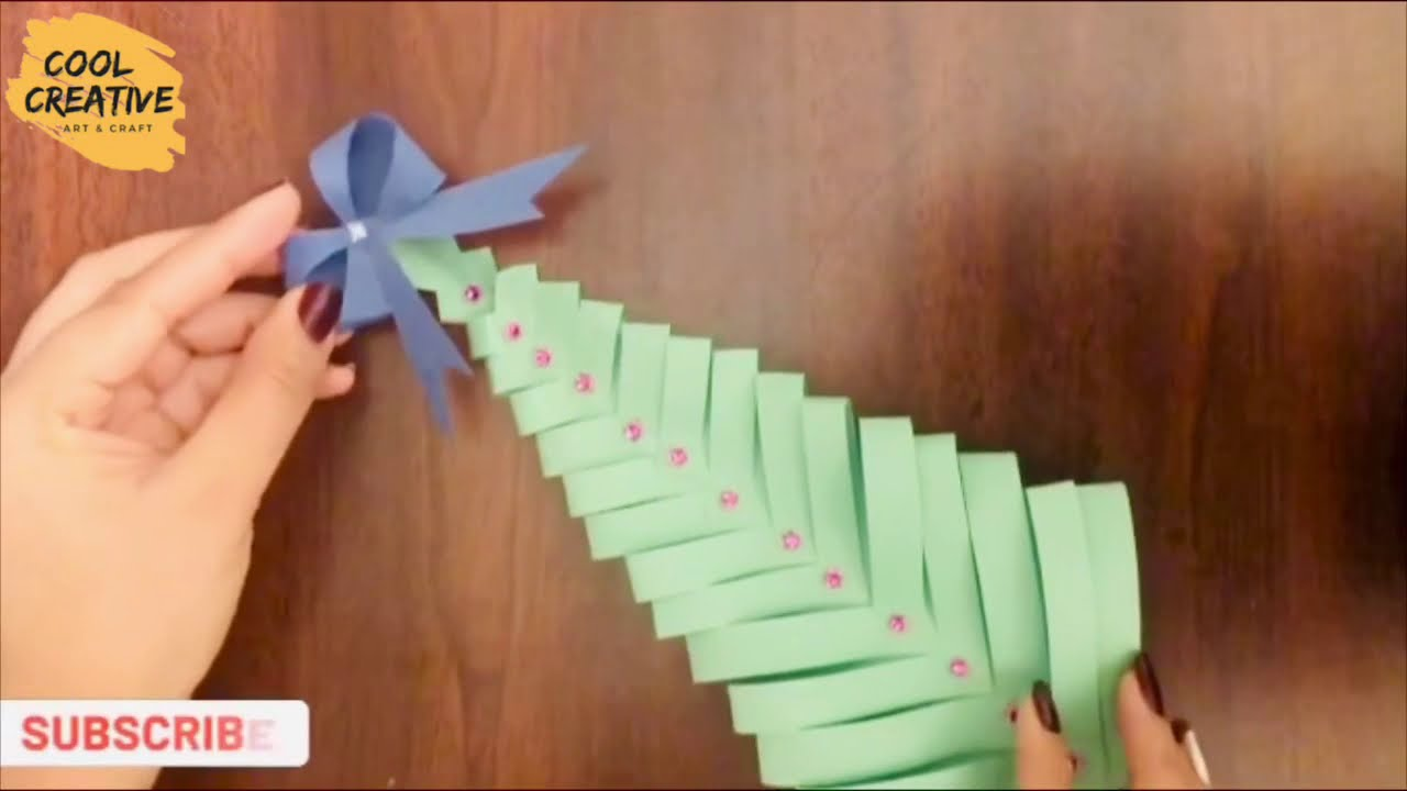 Easy and beautiful Christmas craft idea 2020 using paper / 2020
