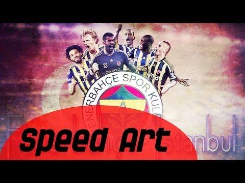 Fenerbahce Istanbul (Speed Art) PHOTOSHOP - Pro Designs HD