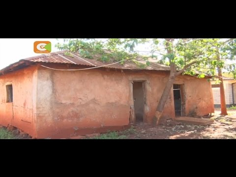 Police at Sagana Station living in deplorable houses