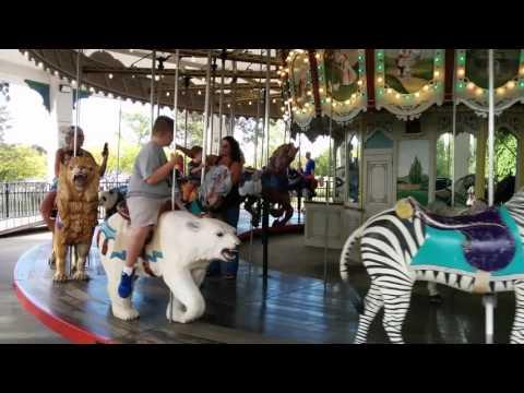 Zoo Carousel Ride 2015 Youtube