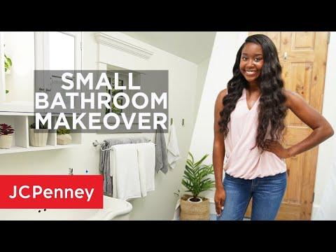 small-bathroom-decor-makeover-ideas-|-jcpenney