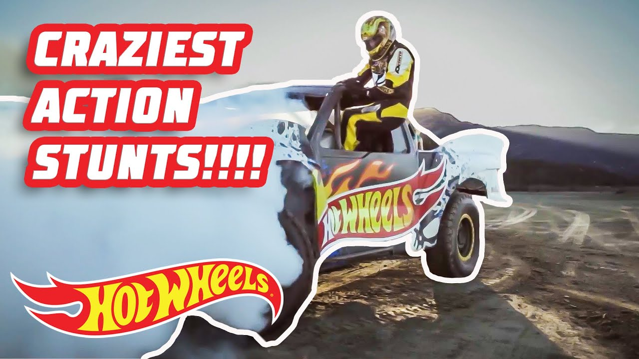 The CRAZIEST ACTION STUNTS FROM HOT WHEELS ACTION SPORTS!!🏅🚴♂️🛹 | @Hot Wheels
