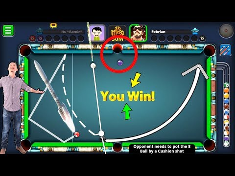 8 Ball Pool - HACKED Opponent's BRAIN NERVES- Berlin Platz 50M Epic Confusion