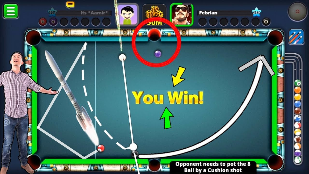 8 Ball Pool Controlled Opponent S Brain Nerves Berlin Platz 50m Epic Confusion Youtube