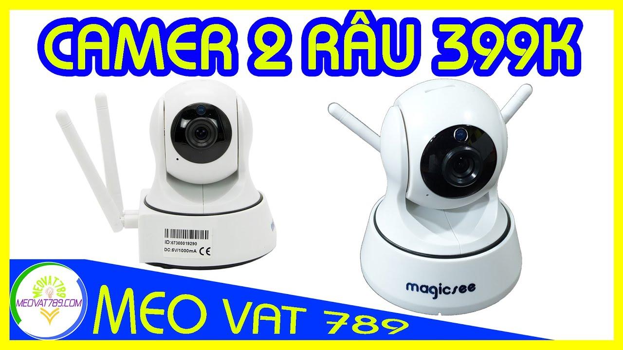 Đập hộp camera IP GIÁ RẺ Magicsee S6300 Plus 399K