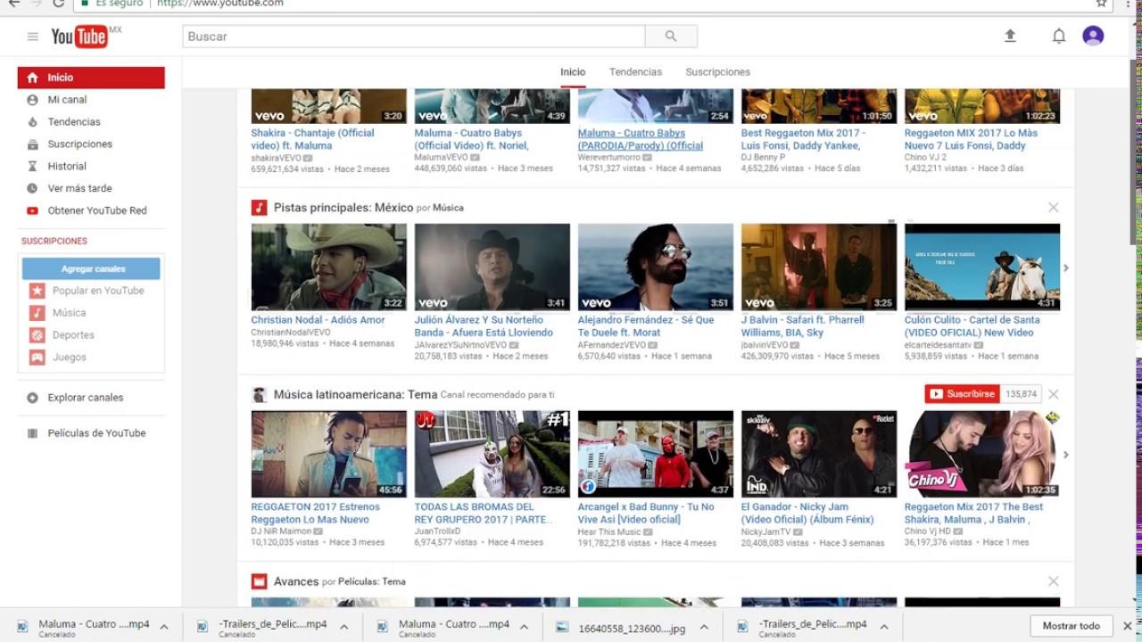 Descargar Videos Cortos Y Largos De Youtube Sin Programas Oficial 2017 Youtube