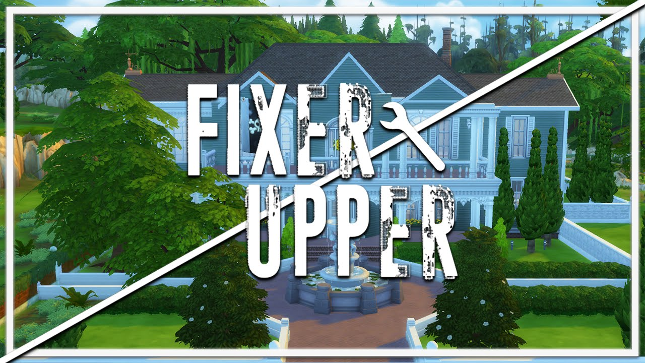 vacant victorian the sims 4 fixer upper home renovation youtube. Black Bedroom Furniture Sets. Home Design Ideas