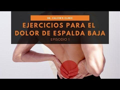 Ejercicios para el dolor de espalda - Video 1