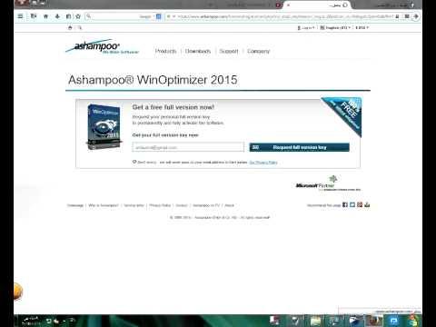 Free Ashampoo WinOptimizer 2015