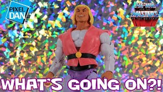 What's Going On?! - Laughing Prince Adam He-Man and the Masters of the Universe Figure Review