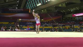 Sam Mikulak - Floor Exercise - 2018 World Championships - Qualifying