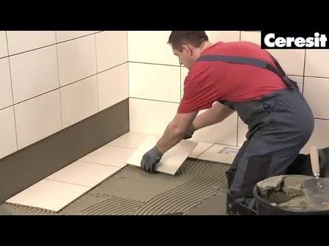 Укладка керамической плитки на старую плиточную облицовку (Обучающее видео)
