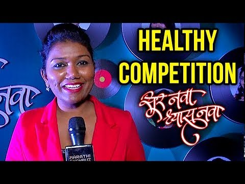 Vaishali Made As Contestant In Sur Nava Dhyas Nava   Interview & Performance   Colors Marathi