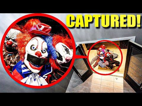 WE CAPTURED CLOWN ARMY AT OUR HOUSE! (WE KNOW THEIR WEAKNESS)