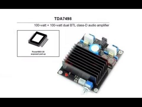 TDA7498 Evaluation