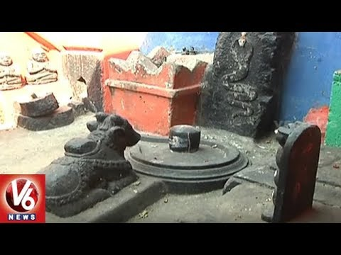 Special Story On Alladurg's Ancient Sculptures And Historical Temples | Medak District | V6 News