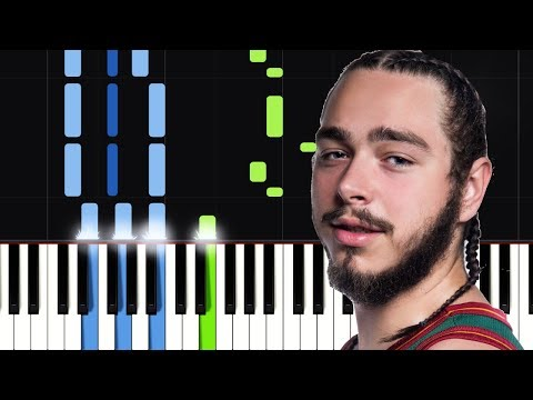 Post Malone - Too Young Piano Tutorial