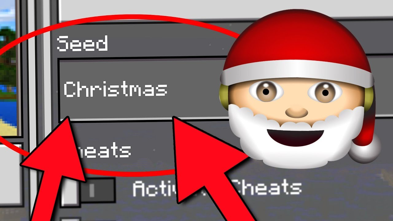 Christmas Minecraft World.Minecraft Christmas World Finding Santa In This Minecraft Seed