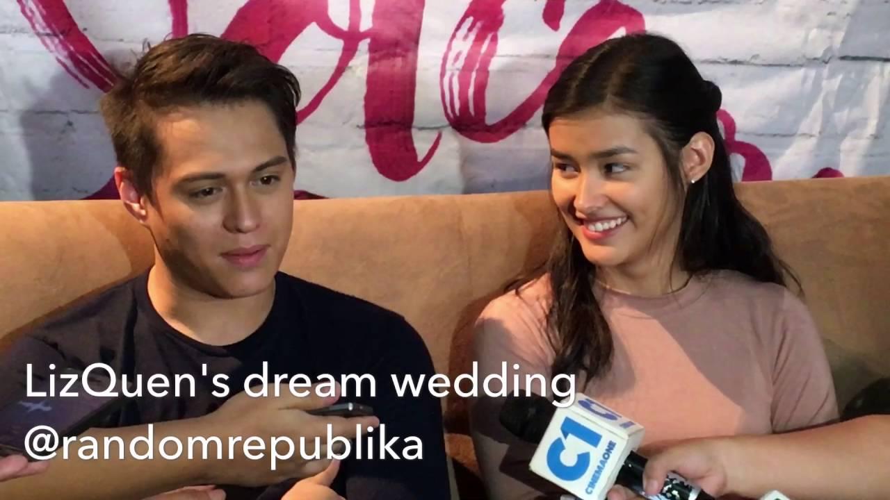 video 2 of 9 lizquen on their dream wedding youtube