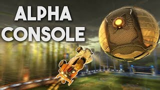 Using Alpha Console in Rocket League