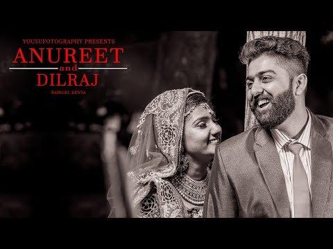 """The Knot"" Anureet & Dilraj Wedding Highlights | Nairobi - Kenya"