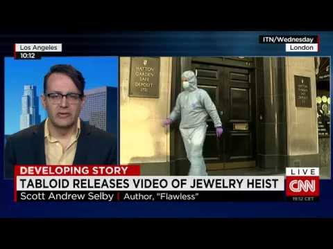 New video: Thieves drill into London jewelry vault stealing & police fail to respond