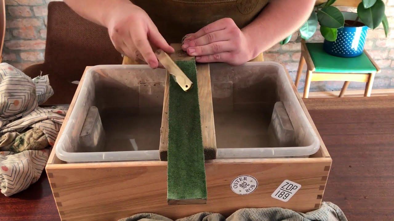 Higonokami knife restoration