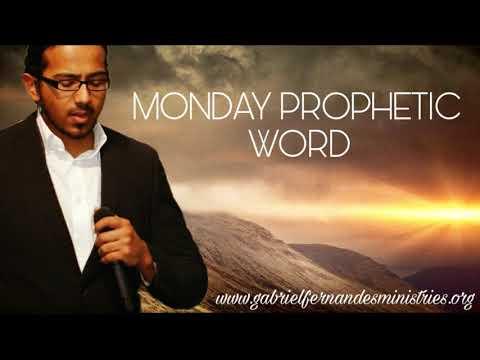 Monday Prophetic Word - 23 April 2018 by Evangelist Gabriel Fernandes