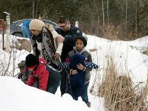 1441. Американские перебежчики. Иммиграция Канада.