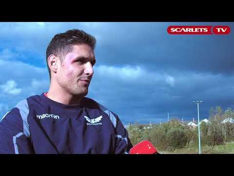 Juandre Kruger on settling in at the Scarlets