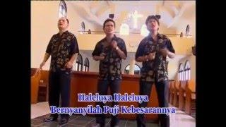 Gambar cover Lagu Rohani Kristen : Haleluya Bernyanyilah.... Nafiri Trio