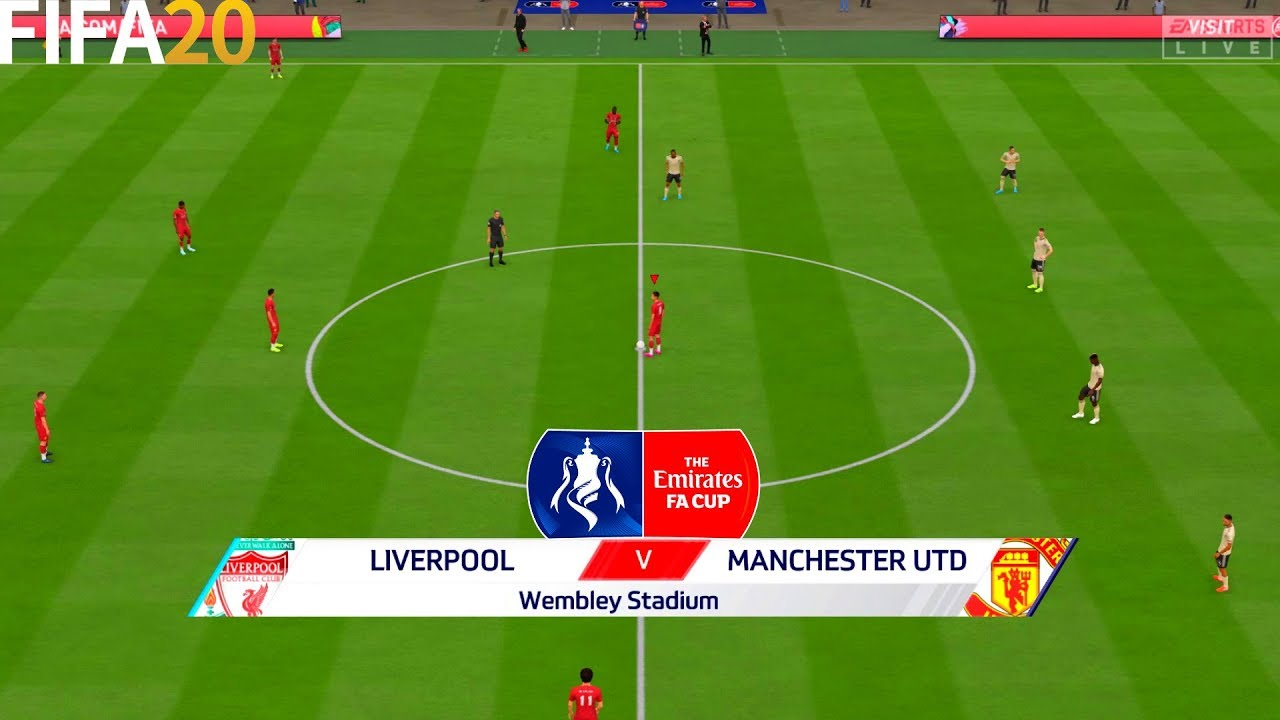 FIFA 20   Liverpool vs Manchester United - Emirates FA Cup - Full Match & Gameplay