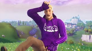 So this is why people put Twitch in their fortnite name...
