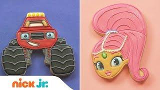 DIY Cookie Art 🍪 Ft. Top Wing, Blaze, Shimmer &...