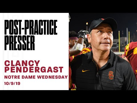 USC Football - 2019 Notre Dame Wednesday: Clancy Pendergast