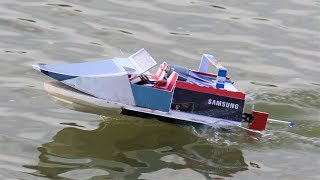 How to make a Boat - Speed RC boat