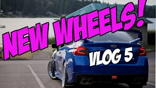 Vlog 5  2015-2016 Subaru WRX / NEW ENKEI WHEELS!