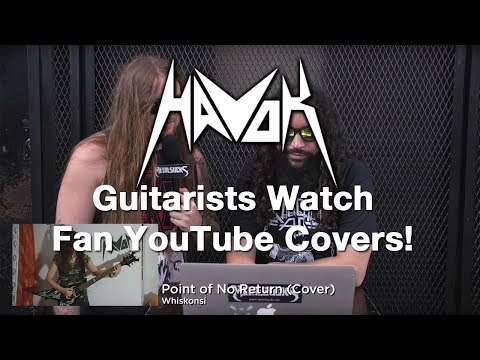 HAVOK Guitarists Watch Fan YouTube Covers | MetalSucks