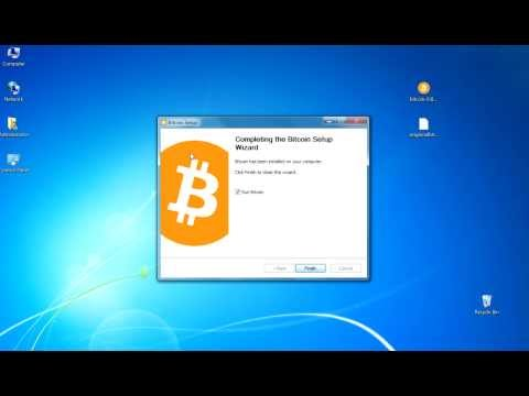 Install, Backup And Restore A Bitcoin Wallet. Or, Almost Any CryptoCoin Wallet (Windows)