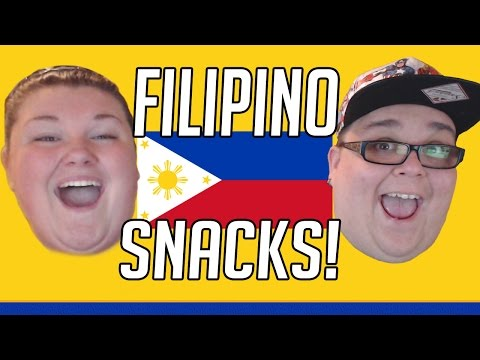 TRYING FILIPINO SNACKS FOR THE FIRST TIME!