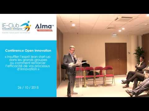 Conférence Open Innovation - Mike DOCHERTY (Venture2)