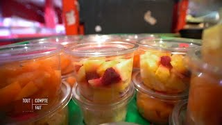 Fruits découpés : le grand gâchis ! - Tout compte fait
